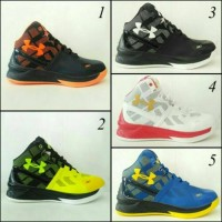 sepatu basket under armour high premium promo murah nike air jordan