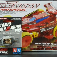 TAMIYA NEO FALCON RED SPECIAL + ATOMIC 2 PRO