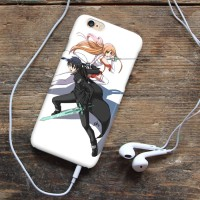 Kirito Asuna Sword Art Online BertarungIphone5 Samsung Oppo F1S Xiaomi