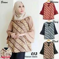 Blouse 013~blouse batik murah~blouse batik modern~blouse online~kr