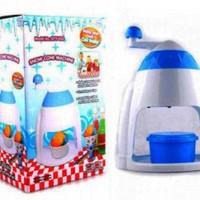 harga Snow Cone Alat Mesin Serut Es Krim Mini Ice Cream Machine Drink Maker Tokopedia.com