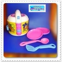 Mainan Anak Perempuan 1 set rice cooker / Permainan main masak masakan