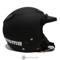 Helm Bogo JPN Momo Vintage Retro Klasik Hitam Black Doff + Pet Topi