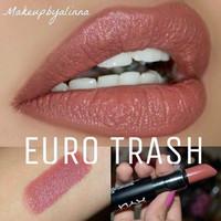 NYX MATTE LIPSTICK EURO TRASH Promo Heboh