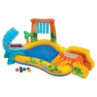 Intex Dinosaur Play Center. Kolam Karet Renang Anak