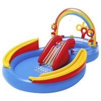 Intex Rainbow Ring Play Center. Kolam Karet Renang Anak