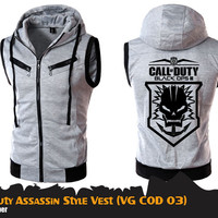 Fashion pria | Vest anime | CALL OF DUTY ASSASSIN'S VEST(VG COD 03)