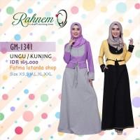 gamis modern/Rahnem GM 1341 Diskon 15%/Busana muslim/gamis/dress/blus