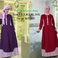 Gamis modern /Rahnem GM 1333 Diskon 15%/Busana muslim/gamis/dress