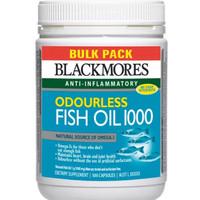 Jual Blackmores odourless fish oil 1000mg isi 500 capsules Murah