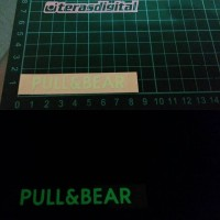 harga Cutting Sticker Glow In The Dark Pull bear Tokopedia.com