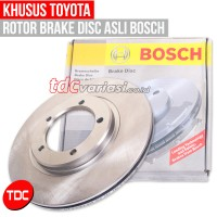 TOYOTA CORONA RT-100 BOSCH BRAKE DISC/ROTOR DISC F (DEPAN-43512 20040