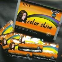 BSY NONI Shampo Warna / BSY Color Shine ORIGINAL - DARK BROWN