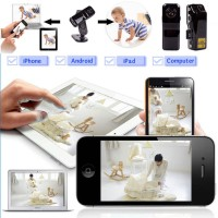 Jual Spy Camera Mini Portable Hd Wifi Camera Md81 P2p & Wireless Murah