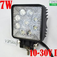 27W Square LED OFFROAD Worklight Mobil OFF ROAD Lampu Sorot 10-30V DC