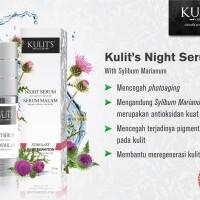 Skincare - Kulits Night Serum with Sylibum Marianum