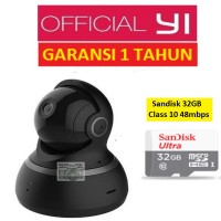 Jual Bundle Xiaomi Yi Dome CCTV 1080 / 1080P International + Sandisk 32 GB Murah
