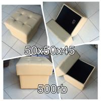 Jual Sofa Puff kotak bagasi Murah