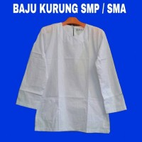 Baju Seragam Anak Wanita Model Kurung SMP/SMA