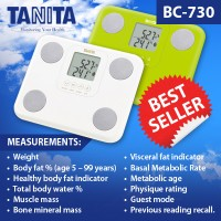 Timbangan Tanita BC-730 - Versi English