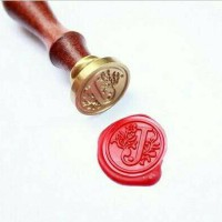 Jual Alphabet Wax Seal Stamp Murah