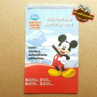 Mickey Mouse & Friends Stickerland Activity Pad