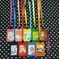 ID Card Holder / Tali Gantungan Kartu Name Tag - Kulit by Esslshop