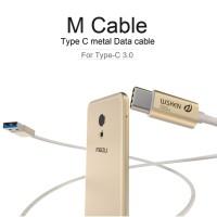 WSKEN 3.0 Metal Data USB Cable Type-C for Nexus 6P 5X Mi4C ZUK 1/2 etc