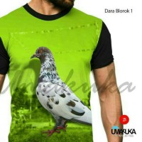 ... Harga Kaos 3d Kaos Burung Hargano.com