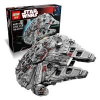 Jual Star Wars Millennium Millenium Milenium Falcon UCS 10179 Lepin 05033 Murah