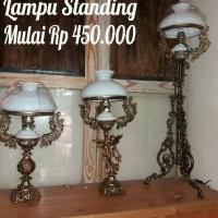 Lampu Standing Antik Klasik dinding dan gantung