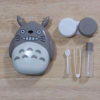Kotak Tempat Lensa Kontak Softlens Contact Lens Case Karakter Totoro