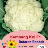 Jual Biji/Benih Sayuran/Kembang Kol Dataran Rendah Murah