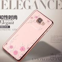 TPU Flower Samsung Galaxy A3 2016 A310 Silicone Diamond Soft Case HP