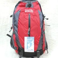 harga Tas Ransel Gunung Tas Pria Carrier Backpack Royal Mountain 095 Red 50L Tokopedia.com