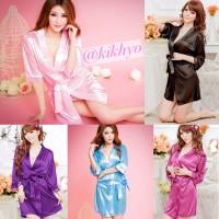 Sexy Lingerie Kimono Sleepwear G-string / Baju Tidur