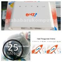 WajanBolic Dual Pigtail Huawei B315 B310 Antena Penguat Sinyal 4G 25M