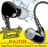 Heavenly Sounds Razor - Dynamic & Deep Bass 18 Ohm DIY IEM
