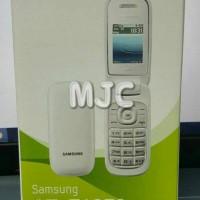 Samsung Caramel GT-E1272 New Garansi resmi SEIN Ready Black n White