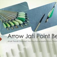 Arrow Anak Panah Kayu Jati Point Besi Termurah di Toped