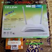 PAKET-AX WIFI HOTSPOT LTE TP-LINK MR3420 v3.0 & E3372 GSM & SMARTFREN
