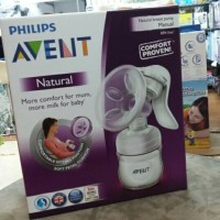 PHILIPS AVENT Manual Comfort breastpump / breast pump / pompa ASI
