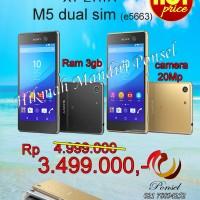 SONY XPERIA M5 DUAL SIM E5663 RAM 3GB GARANSI RESMI