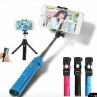 Jual Tongsis Tripod Bluetooth Shutter GEPRO For HP, Camera & GoPRO Murah