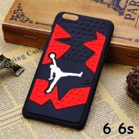 FOR IPHONE 6 6S - HARD CASE 3D Jordan Sport Basketball CASING COVER