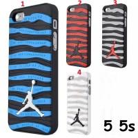 FOR IPHONE 5 5S - HARD CASE 3D Air Jordan STRIPE CASING COVER