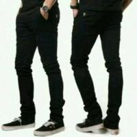 Jual Celana Jeans PSD Skinny Black / Hitam Pekat Murah