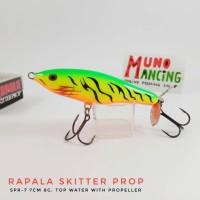 Rapala Skitter Prop SPR-7 Fire Tiger
