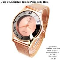Jam Tangan Casio A 168 Gold