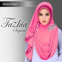Jual Jilbab / Hijab / Kerudung / Pashmina / Khimar / Pastan Tazkia 2 Faces Murah